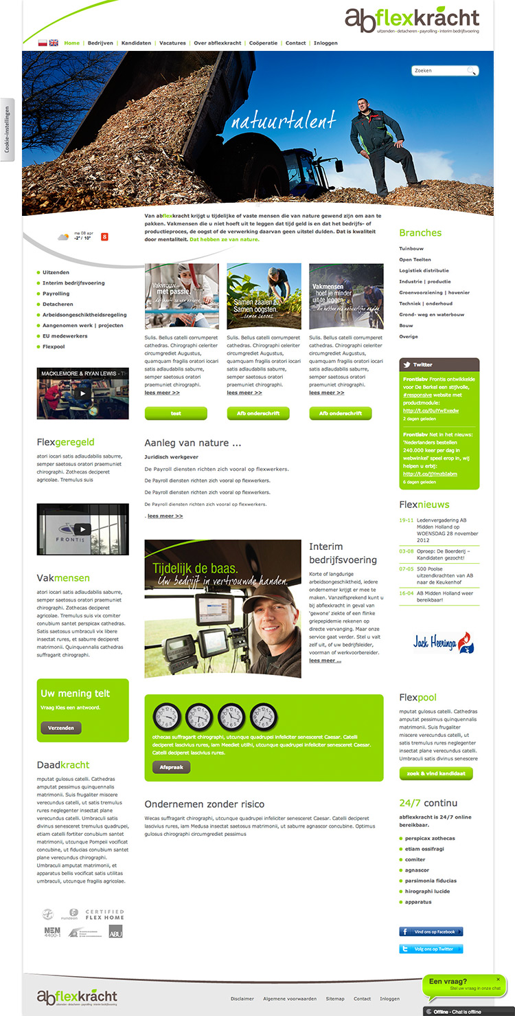 website webdesign